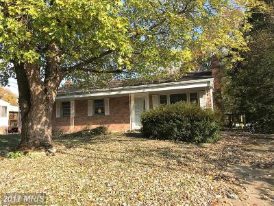 Clinton MD Single Family Home For Sale: $175,000