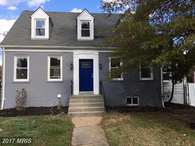 Prince Georges Single Family Home For Sale: 4609 Eastern Avenue