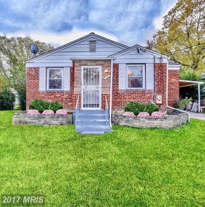 Hyattsville Single Family Home For Sale: 2415 Griffen Street