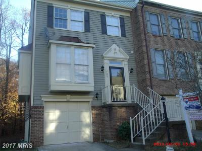 Bowie Townhouse For Sale: 709 Streamside Drive