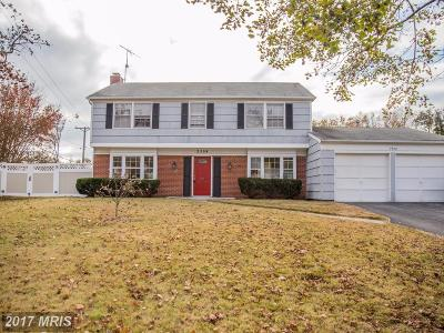 Bowie MD Single Family Home For Sale: $345,000