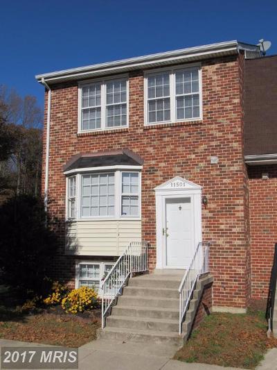 Clinton Townhouse For Sale: 11501 Cosca Park Place