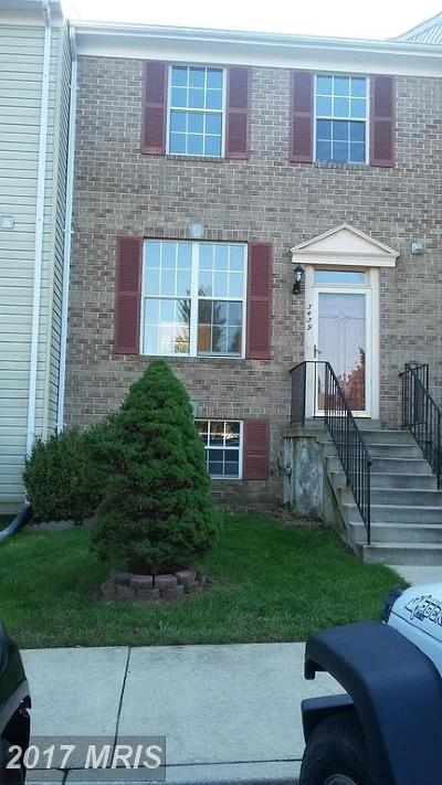 Suitland Condo For Sale: 3439 Wood Creek Drive