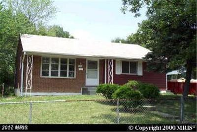 Oxon Hill Single Family Home For Sale: 1402 Fenwood Avenue