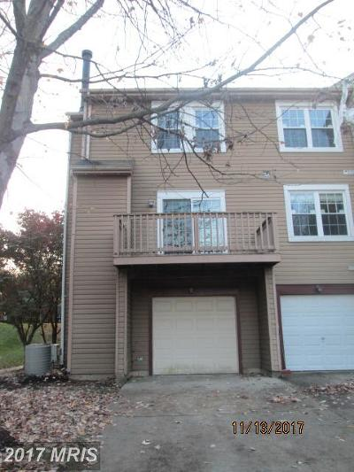 Bowie Townhouse For Sale: 4715 River Valley Way #76