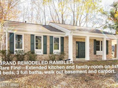 Upper Marlboro Single Family Home For Sale: 8426 Thornberry Drive E