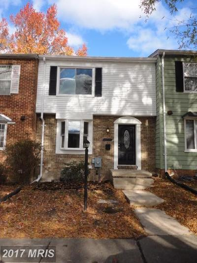 District Heights Townhouse For Sale: 1502 Forest Park Drive