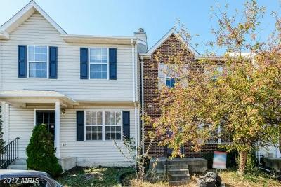 District Heights Townhouse For Sale: 2325 Barkley Place