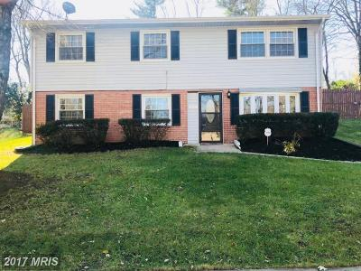 Upper Marlboro Single Family Home For Sale: 17116 Fairway View Lane