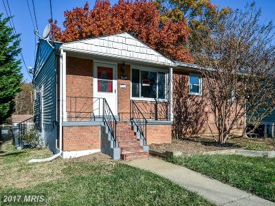District Heights Single Family Home For Sale: 2609 Phelps Avenue
