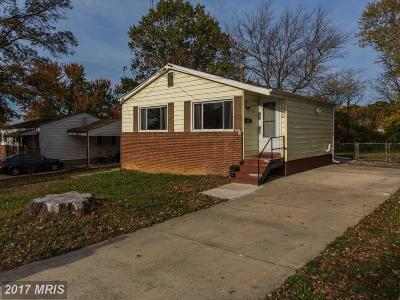 Oxon Hill Single Family Home For Sale: 1516 Dunwoody Avenue