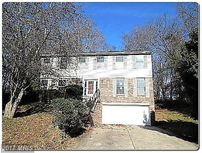 Bowie MD Single Family Home For Sale: $282,500