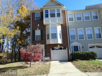 Upper Marlboro Townhouse For Sale: 9800 Woodyard Circle
