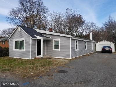 Fort Washington MD Single Family Home For Sale: $269,900