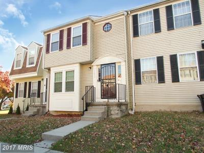 District Heights Townhouse For Sale: 1657 Tulip Avenue