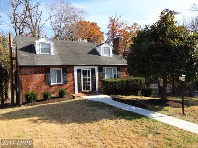 District Heights Single Family Home For Sale: 2914 East Avenue
