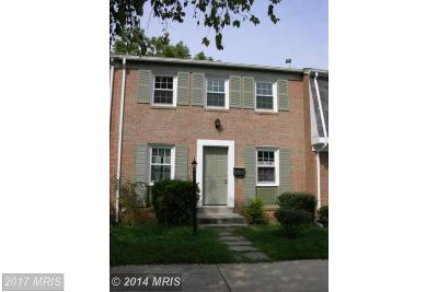 Fort Washington MD Townhouse For Sale: $161,875