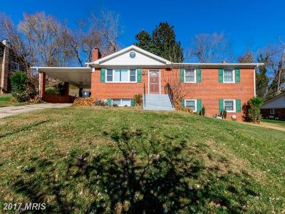 Fort Washington MD Single Family Home For Sale: $310,000