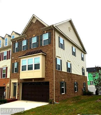 Upper Marlboro Townhouse For Sale: 15510 Sunningdale Place