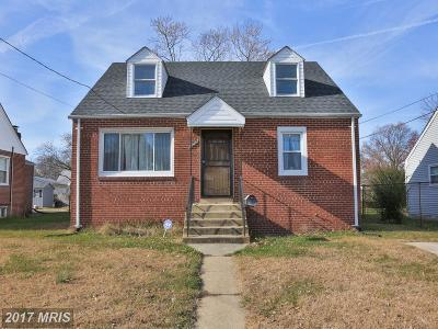 District Heights Single Family Home For Sale: 2713 Newglen Avenue