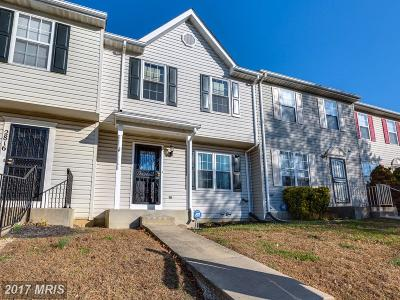 District Heights Townhouse For Sale: 2818 Crestwick Place
