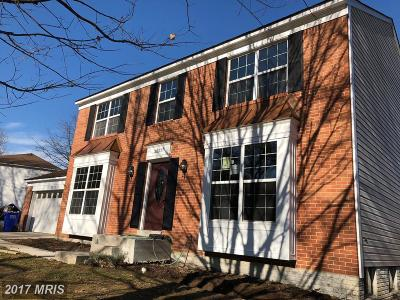 Bowie Single Family Home For Sale: 2525 Ann Arbor Lane