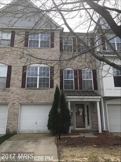 Upper Marlboro Condo For Sale: 1129 Blue Wing Terrace