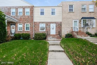 Upper Marlboro Townhouse For Sale: 12307 Chesterton Drive #90