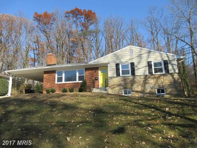 Adelphi Single Family Home For Sale: 10009 Green Forest Drive