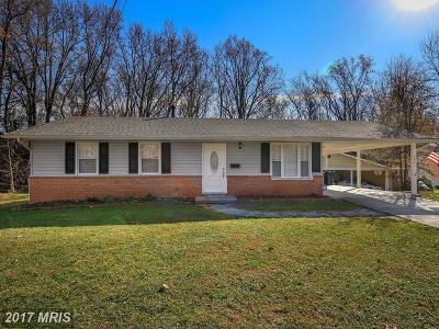 Greenbelt Single Family Home For Sale: 244 Lastner Lane