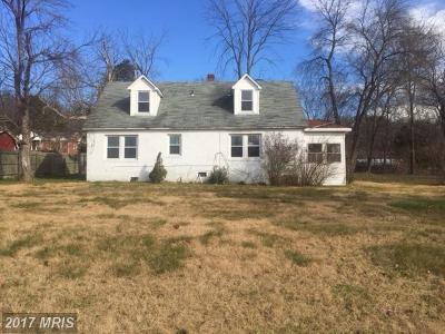 Fort Washington MD Single Family Home For Sale: $275,000