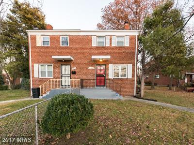Temple Hills Townhouse For Sale: 4100 24th Place