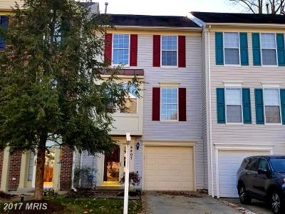 Upper Marlboro Townhouse For Sale: 4407 Swindon Terrace