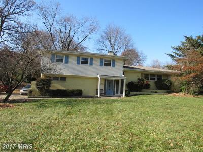 Adelphi Single Family Home For Sale: 1906 Wooded Way