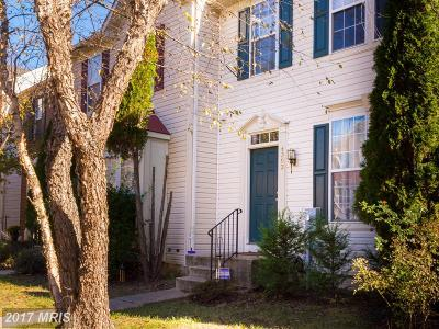 Bowie Townhouse For Sale: 4303 Day Lily Drive