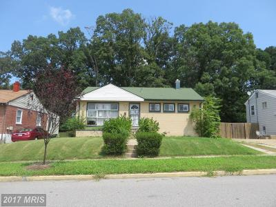 Oxon Hill Single Family Home For Sale: 5806 Ottawa Street