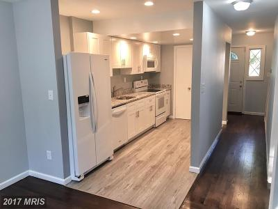 Capitol Heights Townhouse For Sale: 7413 Drumlea Road