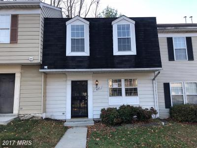 Capitol Heights Townhouse For Sale: 5607 Malvern Way