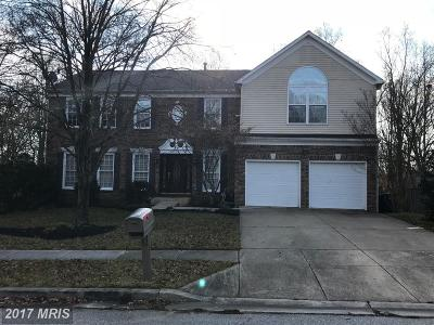 Bowie MD Single Family Home For Sale: $490,000