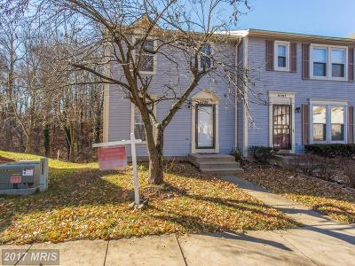 Capitol Heights Townhouse For Sale: 6709 Mountain Lake Place