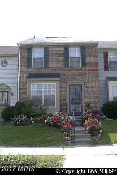 District Heights Townhouse For Sale: 8733 Ritchboro Road
