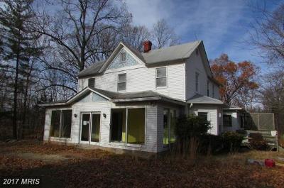 Brandywine Single Family Home For Sale: 12100 Lusbys Lane