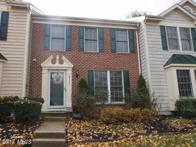 Upper Marlboro Townhouse For Sale: 8531 Paragon Court