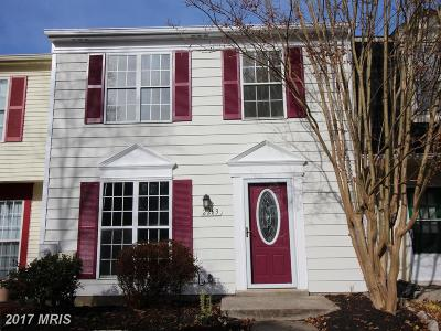 Bowie MD Townhouse For Sale: $239,000