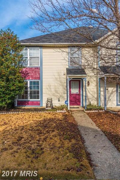Upper Marlboro Townhouse For Sale: 14505 Marlborough Circle