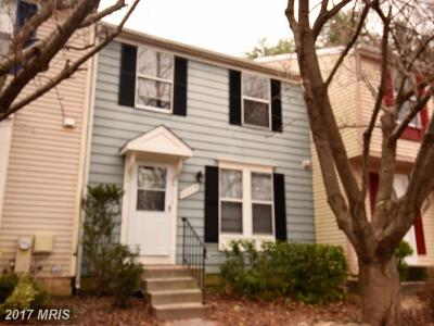 Bowie Townhouse For Sale: 2609 Nemo Court