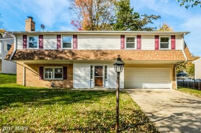 Upper Marlboro Single Family Home For Sale: 9109 Grandhaven Avenue