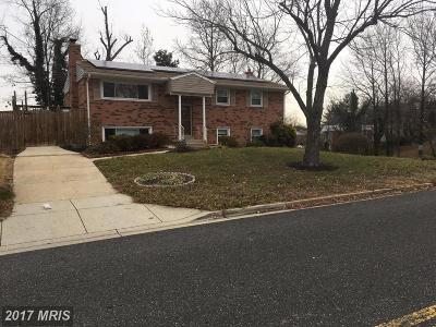 Fort Washington MD Single Family Home For Sale: $335,000