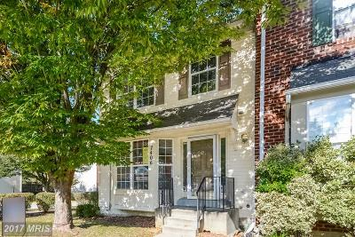 Prince Georges Townhouse For Sale: 7406 Hill Burne Drive