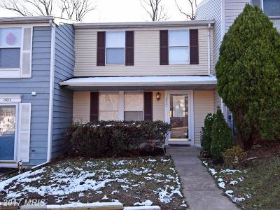 Laurel MD Townhouse For Sale: $204,997